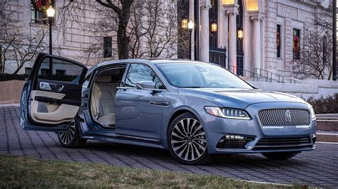 2020 lincoln continental 2020 lincoln continental coach doors special edition