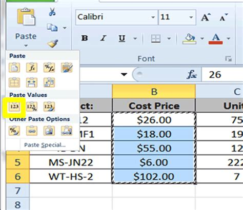 tutorial excel 2010 formulas excel tutorial copying formulas and using relative and