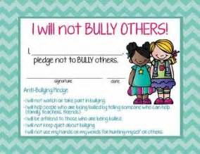 pledge certificate template 17 best ideas about bullying posters on