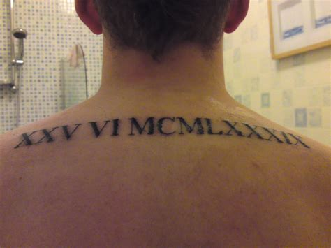 roman numeral tattoo design numeral tattoos designs ideas and meaning tattoos