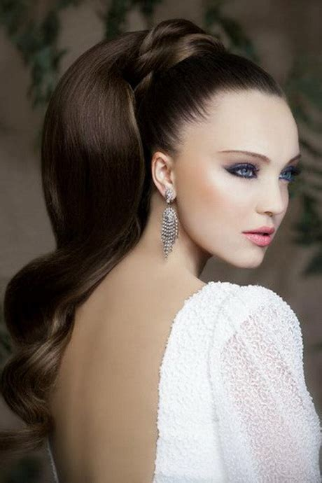 bridal hairstyles ponytail bridal ponytail hairstyles