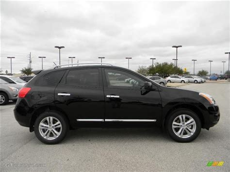 Super Black 2012 Nissan Rogue Sv Exterior Photo 59620290