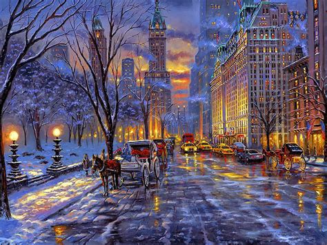 paint nite nyc phone number acrylic paint by numbers kit canvas 50 40cm 8187 winter