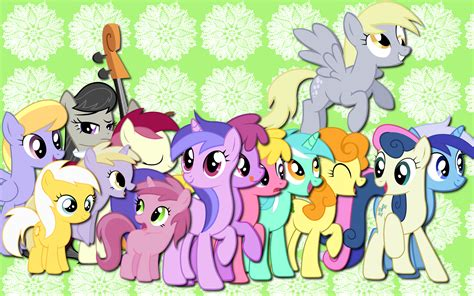 background ponies my pony friendship is magic images background pony