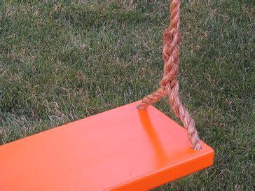 orange swing tree swings for adults wooden tree swings fun orange swing