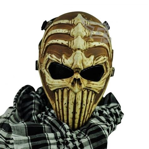 Wosport Masker Airsoft Gun survival paintball airsoft protection safety mask goggles skull ebay airsoft