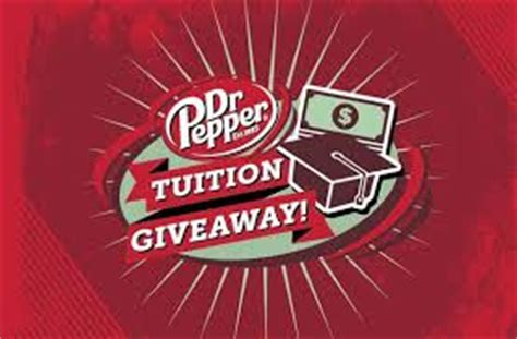 Dr Pepper Scholarship Giveaway - win 100 000 in dr pepper 2015 tuition giveaway college prepped