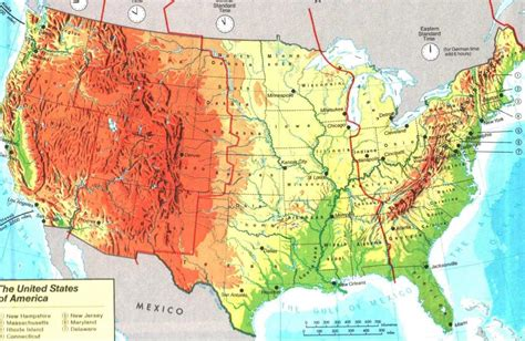 maps c maps of usa