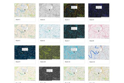 Responsive Styled Maps Plugin V4 3 3 all styles responsive styled maps plugin