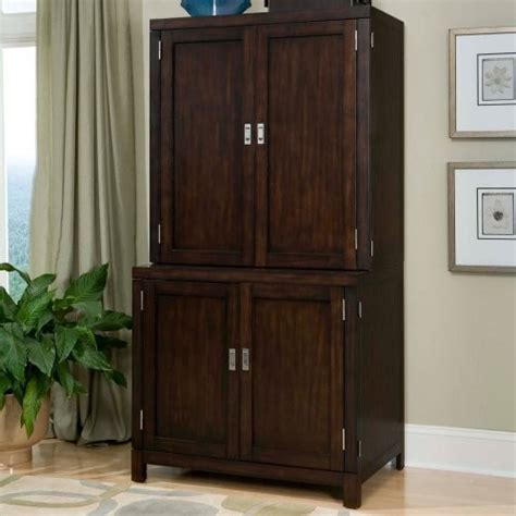 home styles computer armoire home styles city chic compact office cabinet hutch