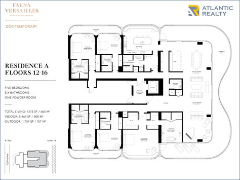 versailles florida floor plan faena versailles contemporary new miami florida beach homes