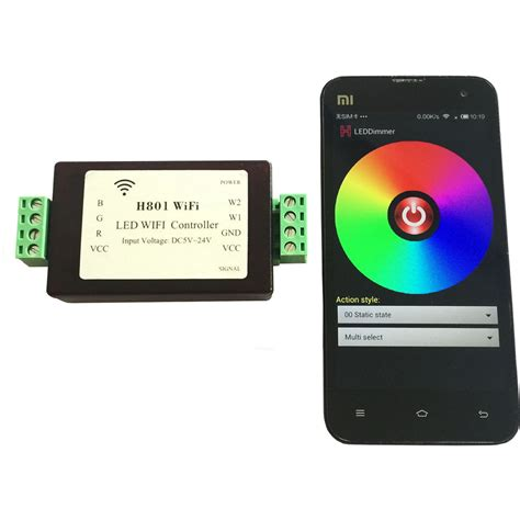 lights with android phone rgbww wifi controller 1 port 200 lights