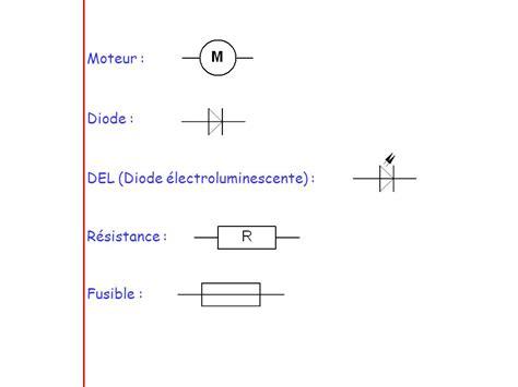 resistance diode electroluminescente le circuit 233 lectrique 1 ppt t 233 l 233 charger