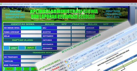 format absensi sekolah minggu aplikasi administrasi siswa dan laporan keuangan sekolah