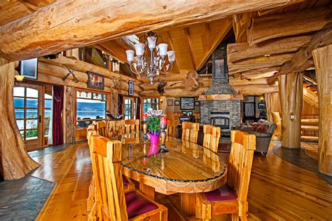 timber king s log home masterpiece luxuryhomes living
