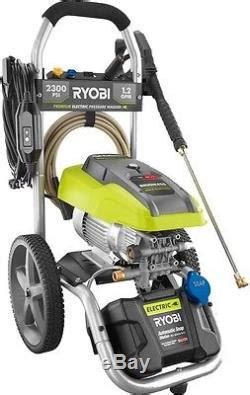 ryobi  psi  gpm high performance electric pressure
