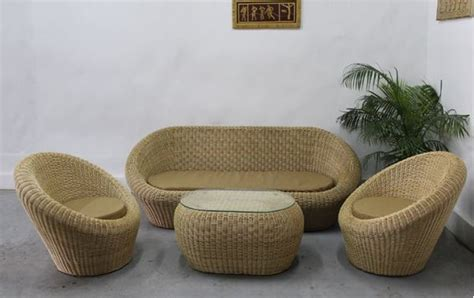 Wholesale Dining Room Sets cane furniture cane sofaset rattan sofaset and bamboo