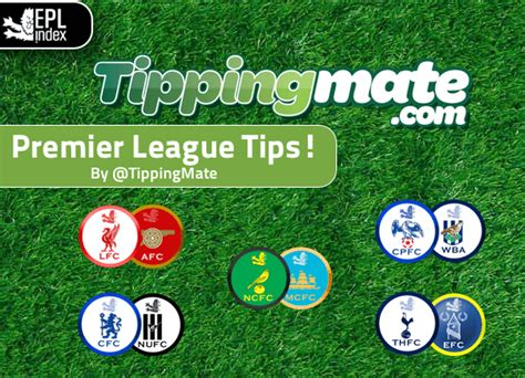 epl tips epl tips epl index unofficial english premier league