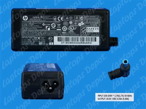 Original Adaptor Laptop Charger Laptop Hpcompaq Pin 185v 35a ac adapter original hp compaq azul con pin series
