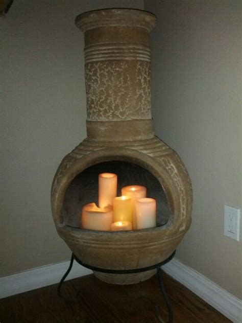 chiminea indoor fireplace thinking about bringing the chiminea inside instead of