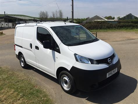 nissan nv200 white nissan nv200 se dci 1 5 vans for sale isle of wight