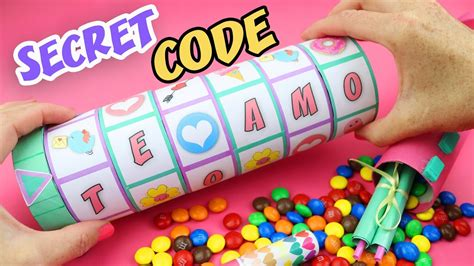 With A Secret make a gift with a secret code to open it criptex