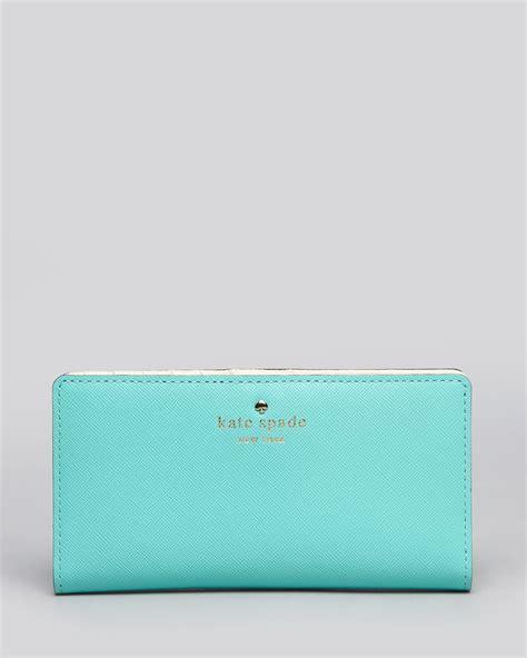 Kate Spade Mikas Pond kate spade continental wallet mikas pond in blue