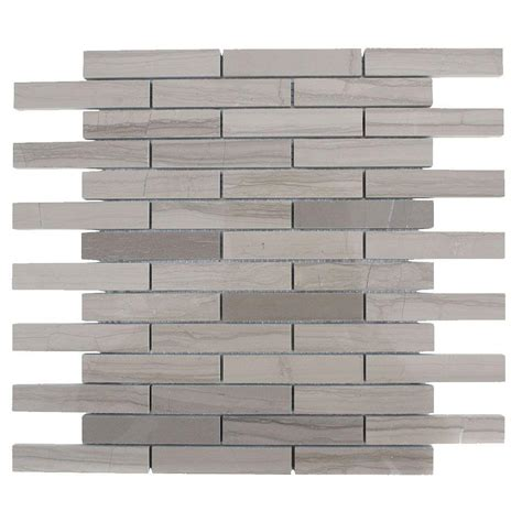 splashback tile athens grey 12 in x 12 in x 8 mm