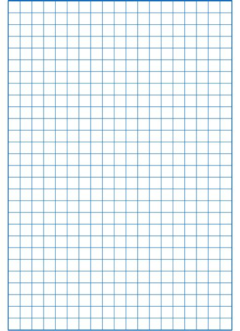1 Inch Graph Paper Printable