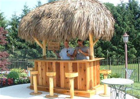 Tiki Hut Blueprints Backyard Pool Bars Tiki Bar Build A Beautiful