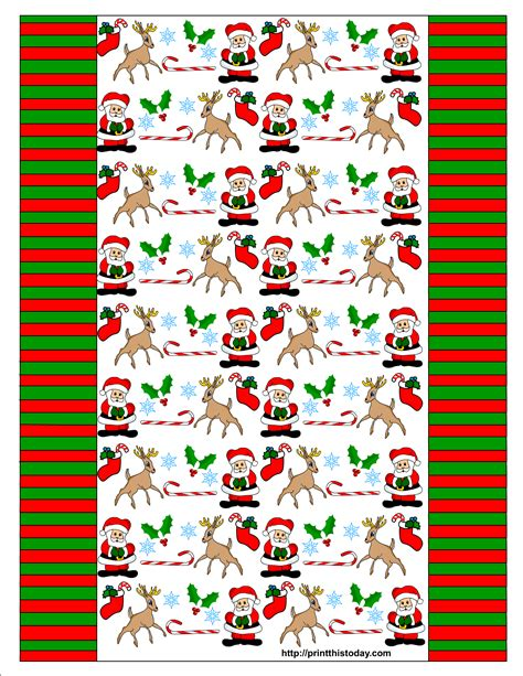 free wrapper templates printables free printable winter wrappers