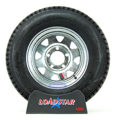boat tires st175 80d13 boat trailer tire on a galvanized 5 bolt wheel