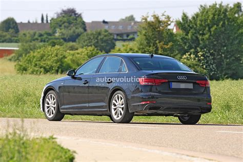 Audi A4 B10 2020 by 2020 Audi A4 Facelift New Spyshots Show All The Details