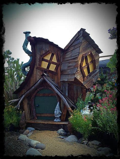 creative gardens  play houses garden shed diy