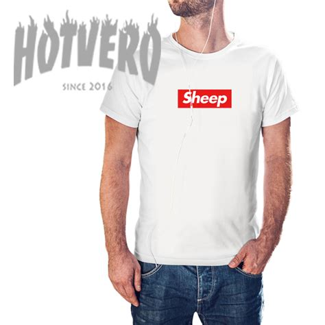 supreme cheap cheap supreme sheep box logo t shirt hotvero