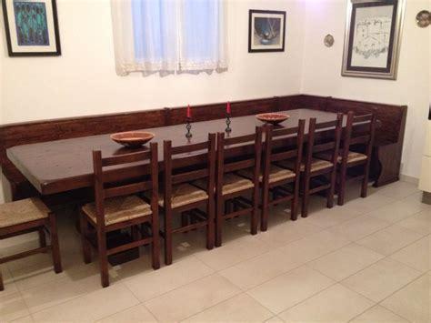 tavoli con panca tavoli su misura