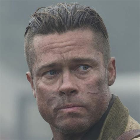 haircut from fury brad pitt haircut in fury what is it how to get the