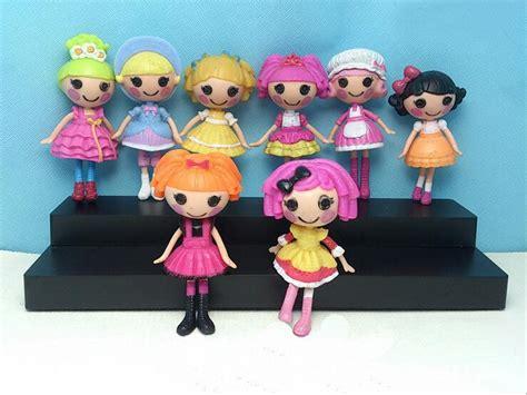 Figure Lalaloopsy Original mini new 3inch original mga lalaloopsy dolls mini dolls for s playhouse each unique