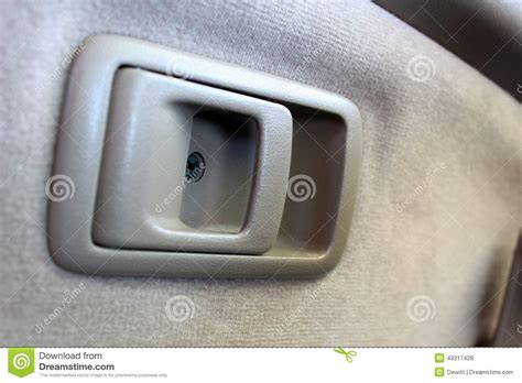 Car Interior Door Handles Car Door Handle Stock Photo Image 43317428
