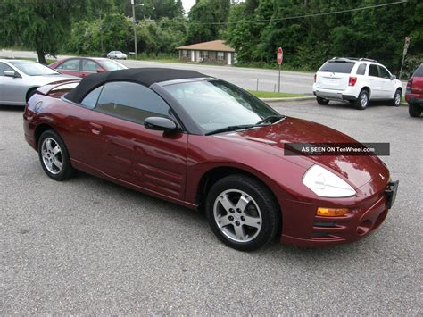 modified mitsubishi eclipse spyder mitsubishi eclipse convertible 2003 www imgkid com the
