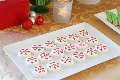 decorating oreo cookies for christmas food ideas recipes