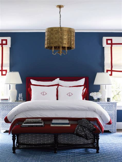 red and blue bedroom three cheers for the red white and blue centsational style
