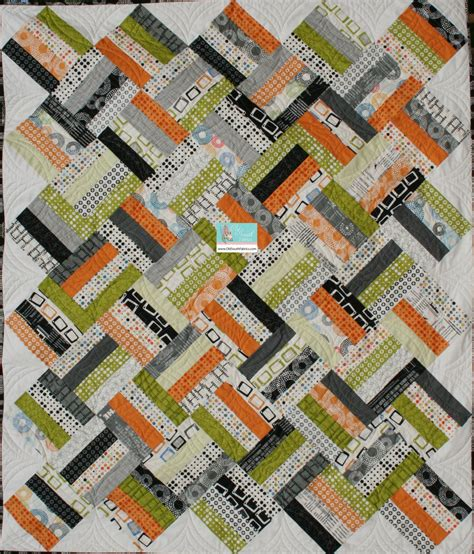 Chic Quilts by Reel Time Quilt Kit Fabric By Zen Chic For Moda Quilt