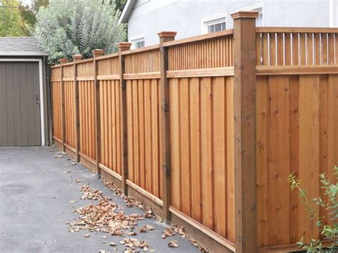 best 25 wood privacy fence ideas on backyard