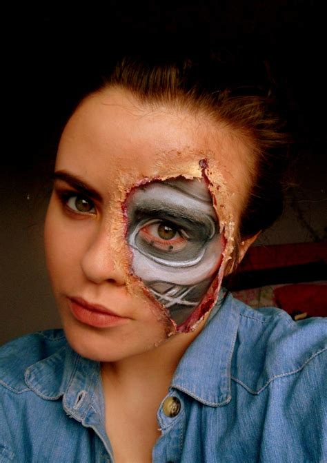 tutorial makeup terminator 143 best costumes cosplay images on pinterest