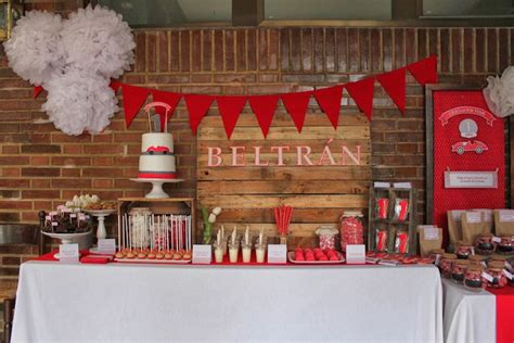 party themes red kara s party ideas vintage red car themed birthday party