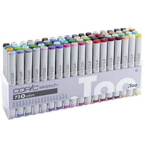 copic sketch marker 72 set b sketching equipment from graff city ltd uk