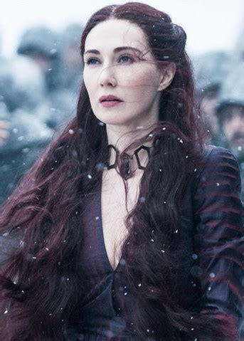 who is the lady in the game of war advert melisandre s5