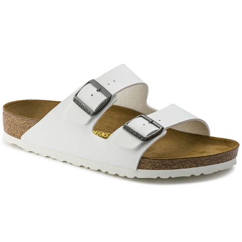 White Sandal arizona birko flor white shop at birkenstock