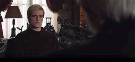 mockingjay part 1 deleted scene peeta and snow chat new mockingjay part 1 deleted scene quot i m not asking